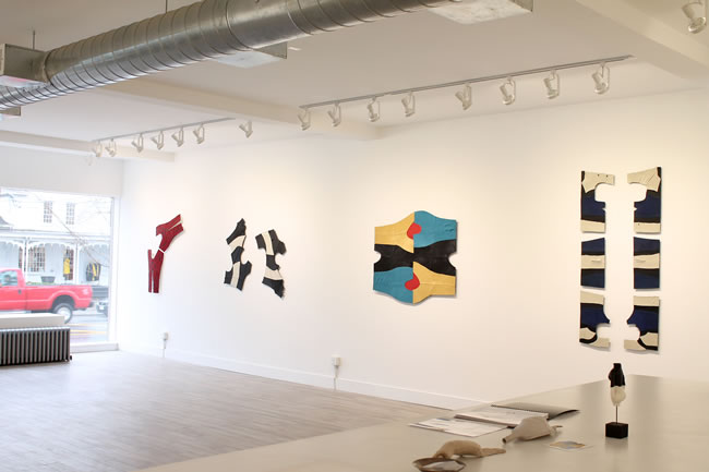 Claire Watson, installation view