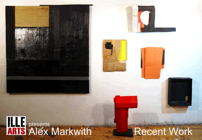 Alex Markwith - Recent Work, Opening Reception, April 13, 5-7pm